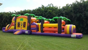 Jungle Island Obstacle Course