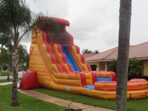 Firestorm Water Slide