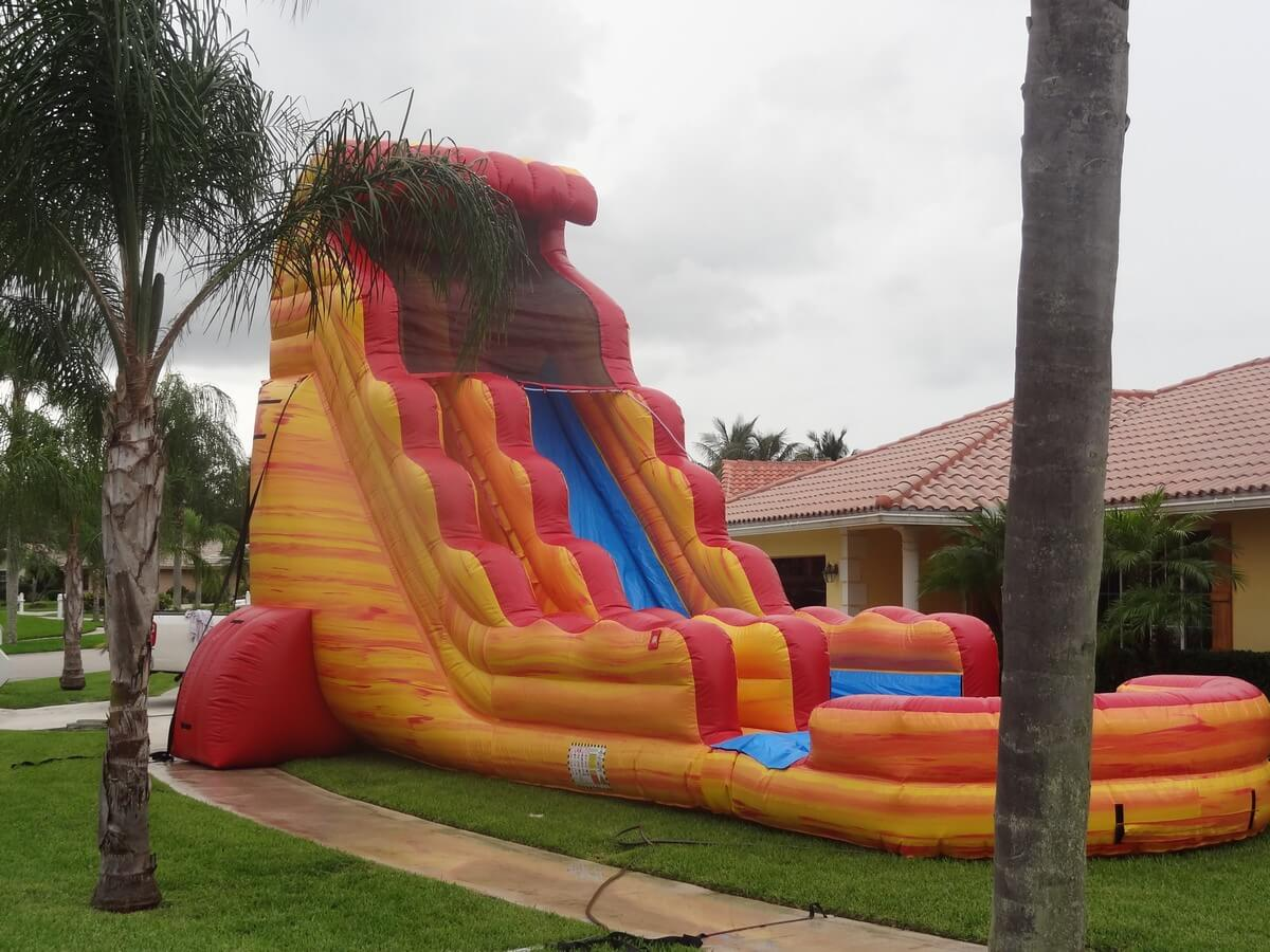 Inflatable Water Slides Lake City Fl