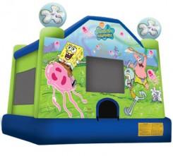 Deluxe Sponge Bob Bounce House