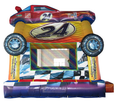 Deluxe Race Car Bounce House