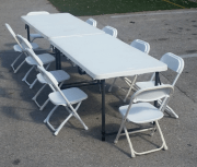 Kids Table & Chairs for 10