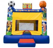 2 in 1 Sports Arena Bounce House