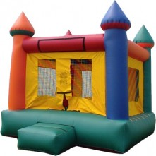 Multi Color Castle Bounce House