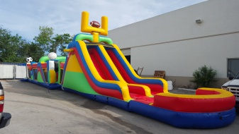 Sports Adventure Obstacle Course