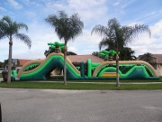 Tropical Dash Obstacle Course