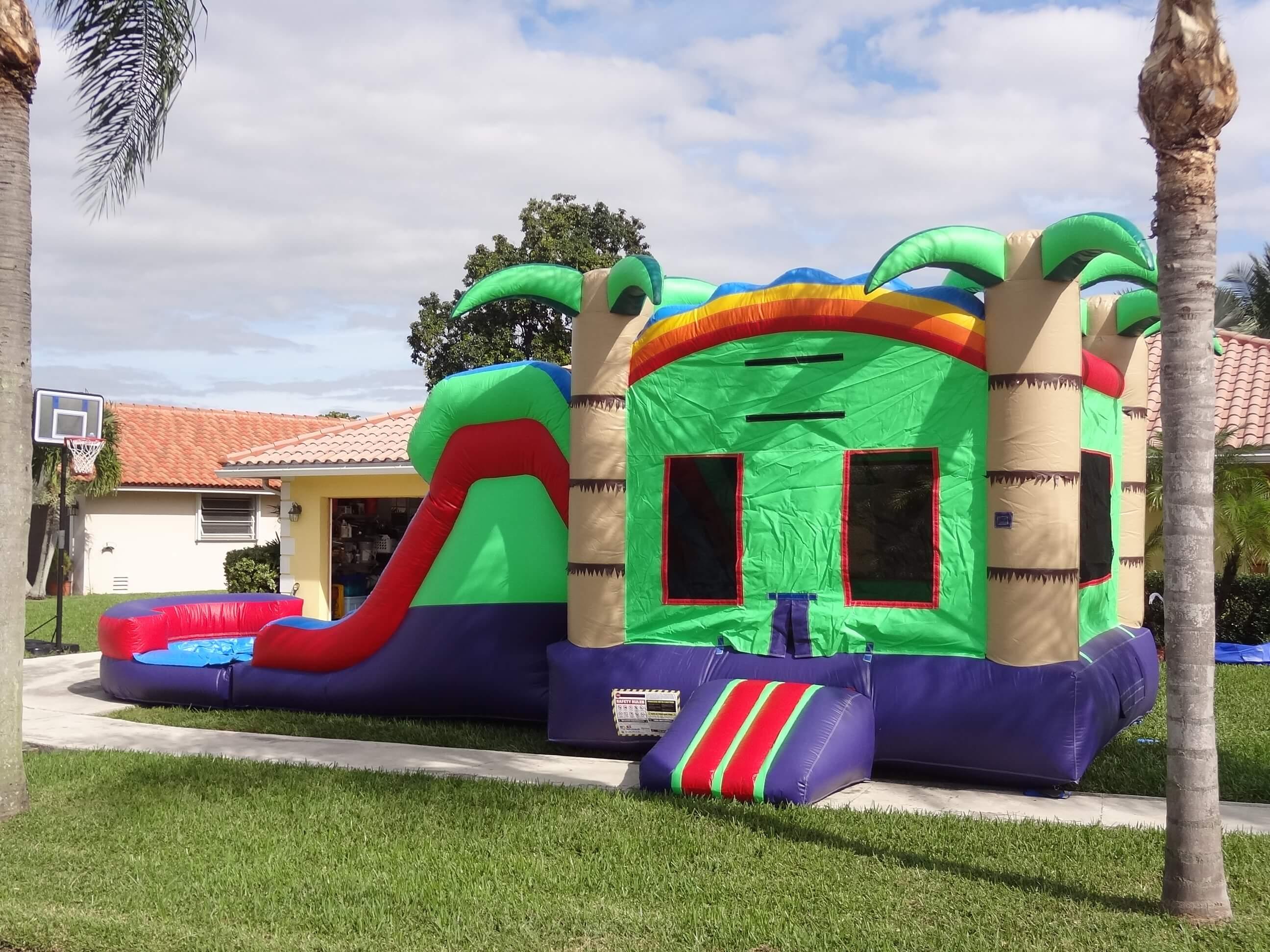 bd83cf729 Combo Units Wet - Bounce House