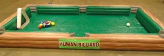 Human Billards