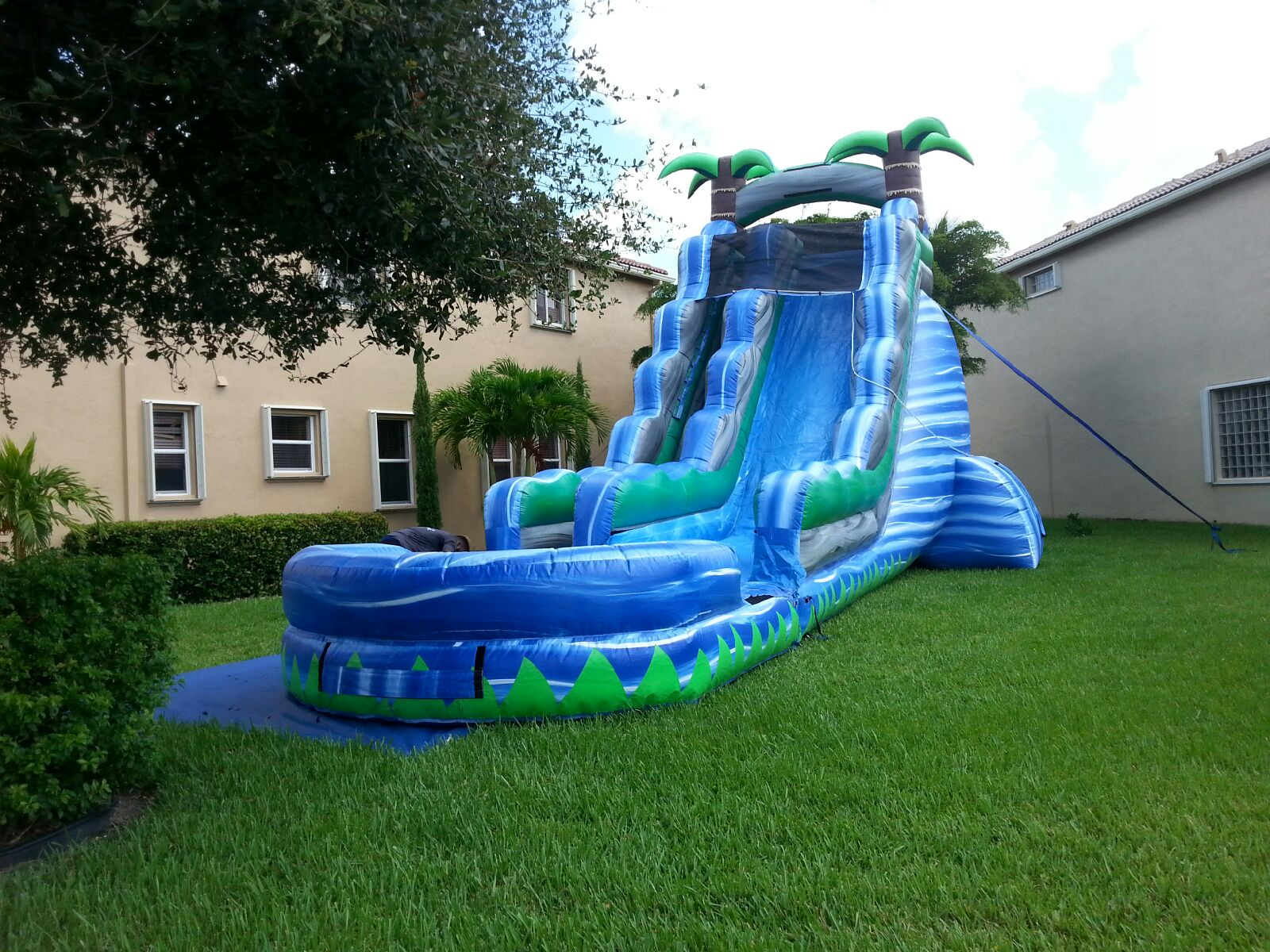 water slides bounce house water slide and party rentals boca