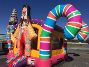 Candy Land Bounce House