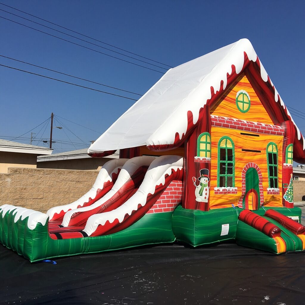 4 in 1 Holiday Fun Combo | South Florida Bounce