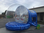 Human Snow Globe 15Ft Tall