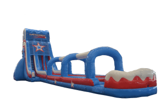 Captain America Water Slide