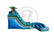 Double Barrel Twist Water Slide