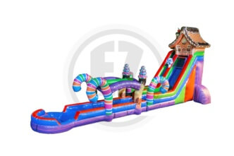 Candy Land Water Slide