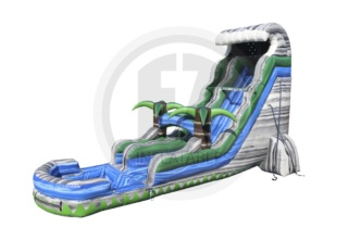 Cascade Crush Water Slide w/ Pool