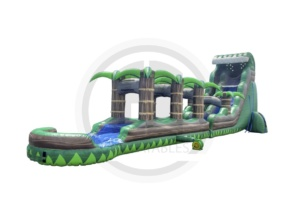 Emerald Crush Water Slide w/ Slip N Slide