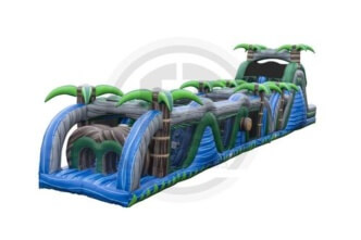 Rainforest Rampage Obstacle Course